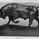 Standing Bull, Second Version (Taureau debout, second version)