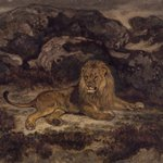 Lion Reclining (Lion au repos)
