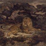 Lion Reclining (Lion au repos)
