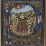 Manuscript Illumination, Martyrdom of St. John the Evangelist