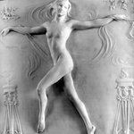 Nude Figure of a Girl Dancing