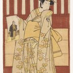 The Actor Ogawa Tsunezo II in a Female Role