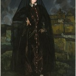 Portrait of Anita Ram&iacute;rez in Black