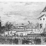La Terraza (Top) and Imaginary View of S. Giacomo di Rialto (Bottom)