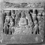 Relief Depicting the Buddha Performing the Miracle at Uruvilva