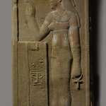 Raised Relief of a Goddess or Queen