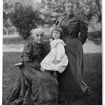 Mrs. Hermann, Ruth Schram and Mrs. Schram