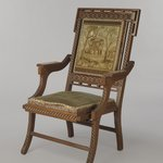 Folding Armchair (reception) (Aesthetic Movement style)