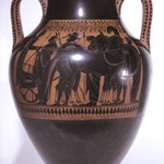 Black-figure Type A Amphora