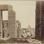 Ramesseum avec la Statue