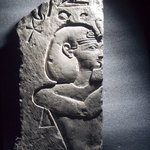 Relief of a King