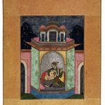 Dipaka Raga, Page from a Ragamala Series