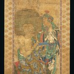 Arhat with Attendant, from a series of 16 Rakan