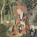 Arhat (One of nine Tibetan Ritual Paintings of Arhats)