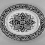 Large Oval Platter; Primrose Pattern