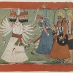 Ravana Challenges Ramas Army