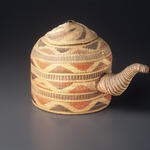 Basketry Teapot with Lid