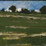 Hillside with Rocky Outcrops