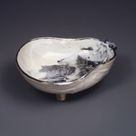 Bowl in the Shape of a Gourd, Kyoto Ware