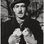 Coney Island, Man with Guinea Pigs