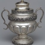 Sugar Bowl with Lid,  Part of Three-Piece Set