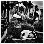 Girl Sleeping at the Cemetery on the Day of the Dead, from the series Day of the Dead (Vivir La Muerte)