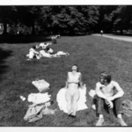Untitled (Woman and Man Sunning Themselves in a Park), from Women are Beautiful Series