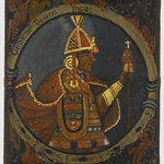 Huascar, Thirteenth Inca, 1 of 14 Portraits of Inca Kings