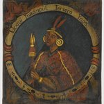Lloqui Yupanqui, Third Inca, 1 of 14 Portraits of Inca Kings