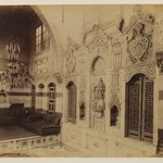 Damascus- Reception room of the Istambouli House