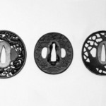 "Tsuba (Sword Guard) with ""Nanako"" Ground"