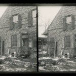 Rem Lefferts House, East Gable, Fulton Street and Bedford Avenue, Brooklyn