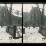 Rem Lefferts, Snow, Fulton Street near Bedford Avenue, Brooklyn