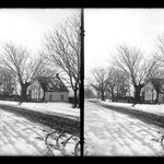 Farm, Snow, 48th Street at New Utrecht Road, Brooklyn