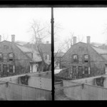 Rem Lefferts House, Fulton Street opposite Arlington Place near Bedford, Brooklyn