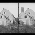 J. Birdsall House, West Gable, Road and Children, Flatbush opposite Fenimore Street, Flatbush, Brooklyn