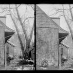 Rem Lefferts House, West Gable, Rear, Fulton Street opposite Arlington Place near Bedford, Brooklyn