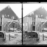 Vanderveer Mill, Vanderveer Crossings, Wheel and Sluiceway, Canarsie, Brooklyn