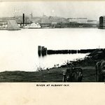 River at Albany, New York