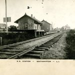 Railroad, Depot, Southampton, Long Island