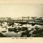 View near Communipaw, New Jersey