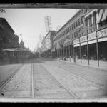 Fulton Street from Flatbush Avenue, toward City Hall, Brooklyn