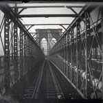Bridge from Train, Brooklyn, NY