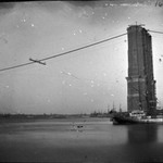 Construction of Brooklyn Bridge
