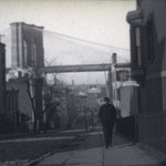 Street Scene Near Brooklyn Bridge