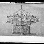Lotts Mill Sketch W.H. Story, Flatbush, Brooklyn