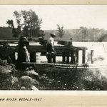 Down River, People Going Home, Deep River, Connecticut
