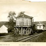 Railroad Station, Cold Spring Harbor, Long Island