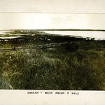 Orient west from Hill, Long Island