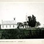 Presbyterian Church and School, Setauket, Long Island